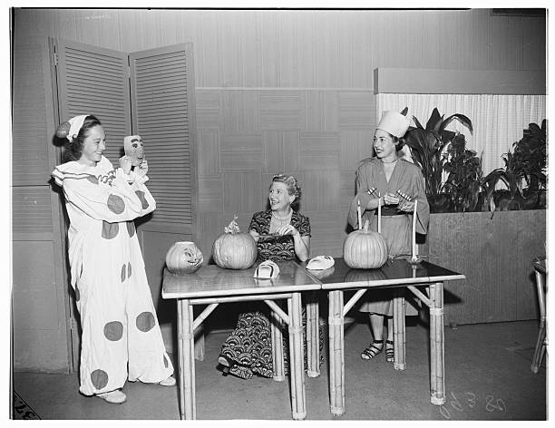 santa monica swim club halloween 1951