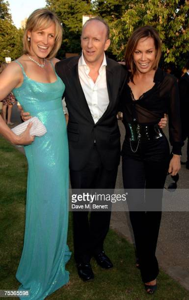 Santa MontefioreSimon Sebag Montefiore and Tara Palmer Tomkinson attend the Serpentine Summer Party at The Serpentine Gallery on July 11 2007 in...
