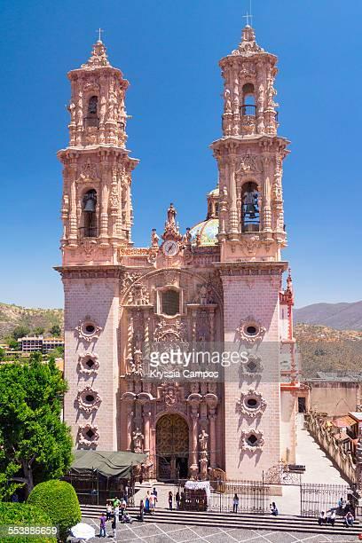 santa prisca church - barock stock-fotos und bilder