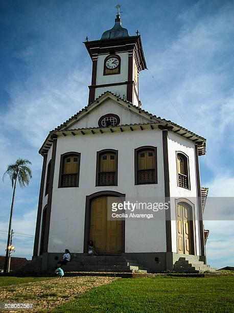 santa rita church - santa cecilia - fotografias e filmes do acervo
