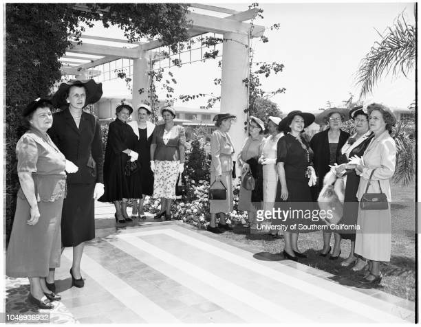 Santa Rita Clinic Guildsociety May 28 1951 Mrs Charles A DaileyMrs Leo M RosecransMrs Guy Van BuskirkMrs William E SimpsonMrs Fredrick W...