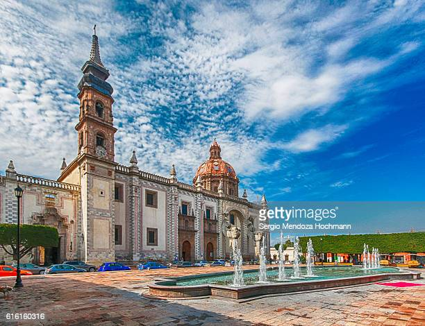 santa rosa de viterbo temple - queretaro, mexico - ケレタロ州 ストックフォトと画像