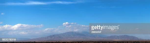 santa rosa mountain panorama - zeesstof stock pictures, royalty-free photos & images