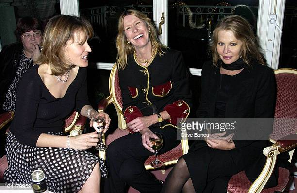 Santa Sebag Montefiore Lady Carina Frost And Anouska Hempel Lady Annabel Goldsmith Was Joined By All Her Family As She Hosted A Party To Launch A...