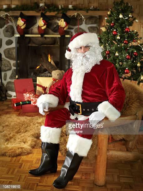 Santa sitzen