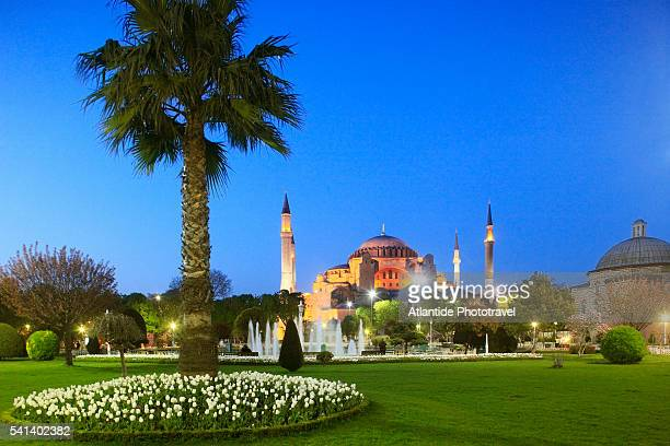 santa sofia, hagia sophia or aya sofya, mosque - ottoman empire stock pictures, royalty-free photos & images