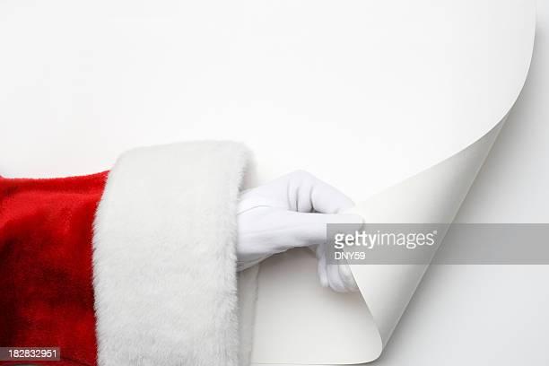 Santa Turning Page