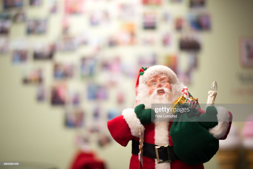 Santa with the memory : Stock Photo
