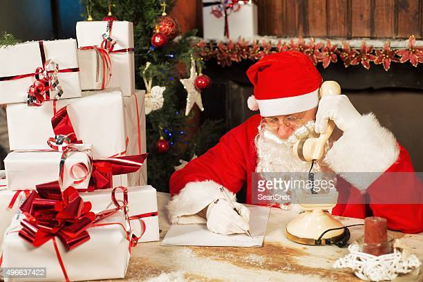 Santa Writing His Wish List