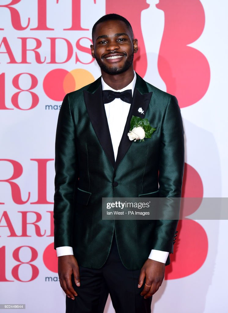 Santan Dave attending the Brit Awards at the O2 Arena, London
