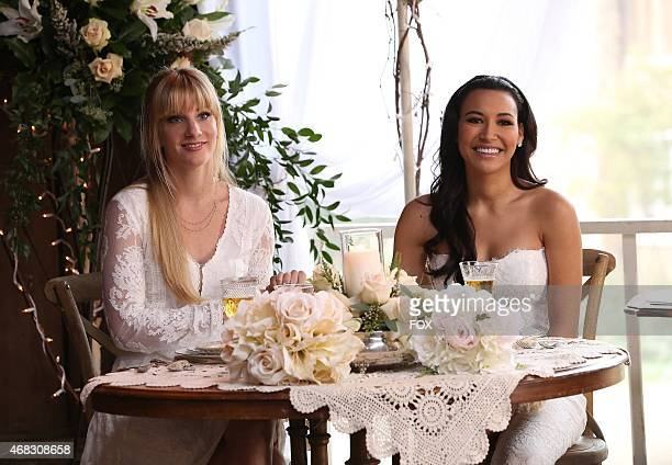 """Santana and Brittany tie the knot in the """"Wedding"""" episode of GLEE airing Friday, Feb. 20 on FOX."""