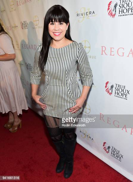 Santana Dempsey at Regard Magazine Spring 2018 Cover Unveiling Party presented by Sony Studios featuring the cast of 'The Oath' on Crackle at Riviera...