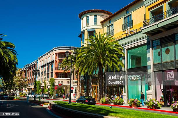 Santana Row buildings in San Jose, California