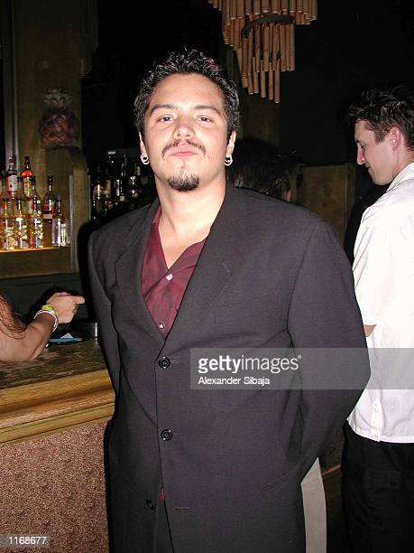 Santana vocalist Andy Vargas attends Solidarity Thru Salsa benefit for the LAPD disaster support fund on behalf of NY Police Firefighters Widows...