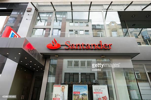 Banco Santander derivación en Frankfurt, Alemania