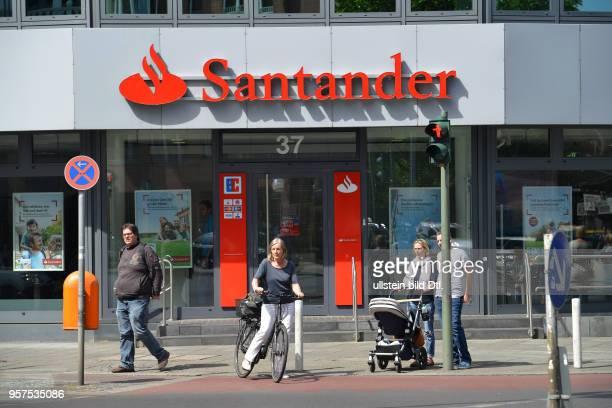 Santander Bank Budapester Strasse Charlottenburg Berlin Deutschland