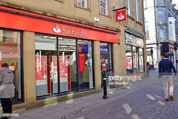 santander lancaster market street - banco santander stock pictures, royalty-free photos & images