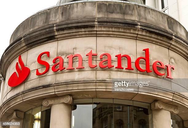 Logotipo de Santander