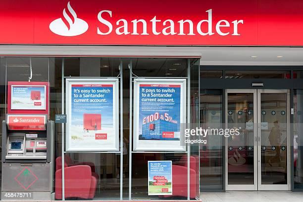 santander - banco santander stock pictures, royalty-free photos & images