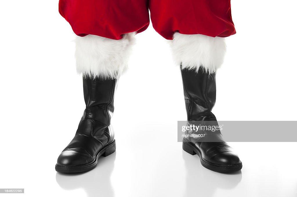 Santa's Boots : Stock Photo