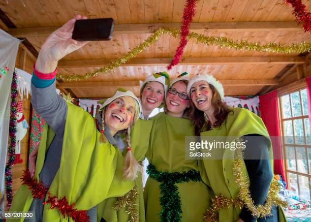 サンタさんのエルフ Selfie