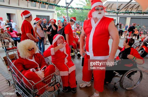 Santas from all over Johannesburg congregated at Brightwater Commons Shopping complex in an attempt to break a record for the most Santa Clauses on...