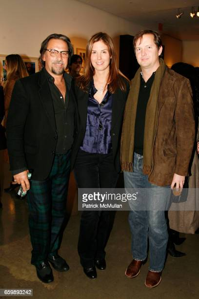 Sante D'Orazio Melissa Skoog and Chris Dunagan attend 'BARELY PRIVATE' by SANTE D'ORAZIO Photography Exhibit and Book Party at Milk Gallery on...