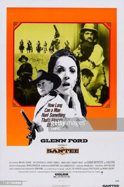 Santee poster US poster front from left Glenn Ford Dana Wynter 1973