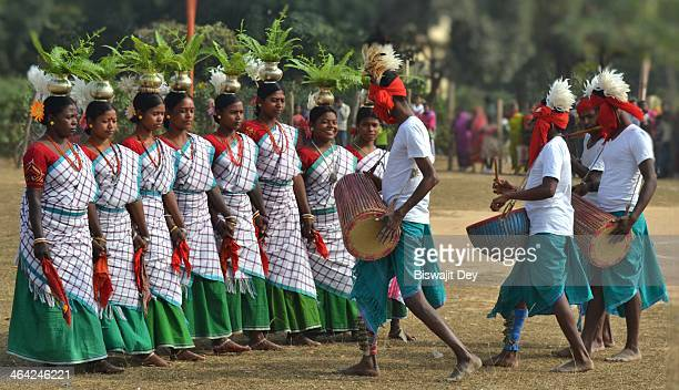 CONTENT] Santhal is a very popular folk dance performed in the districts of Bankura and Birbhum This dance is performed by the Santhal tribes during...