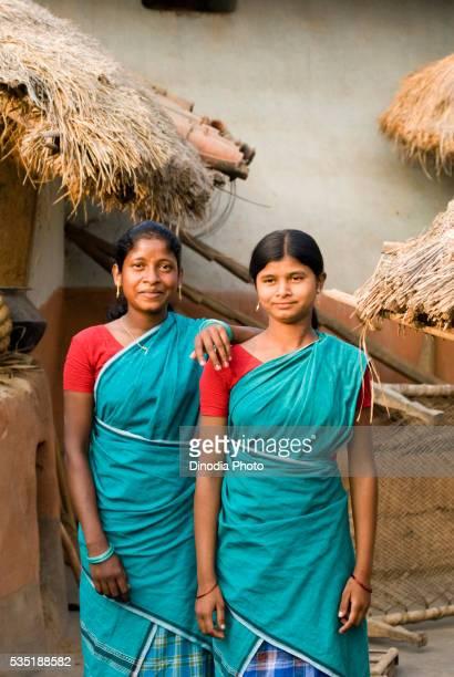 Santhal tribe in Dumka, Jharkhand, India.