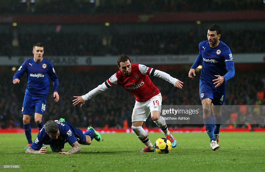 Soccer : Barclays Premier League - Arsenal v Cardiff City : News Photo