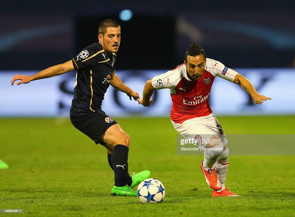 GNK Dinamo Zagreb v Arsenal FC - UEFA Champions League : News Photo
