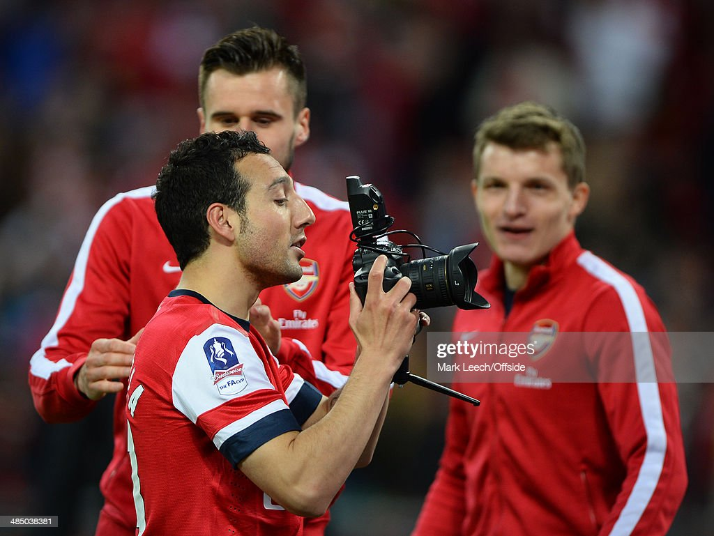 Wigan Athletic v Arsenal - The FA Cup : News Photo