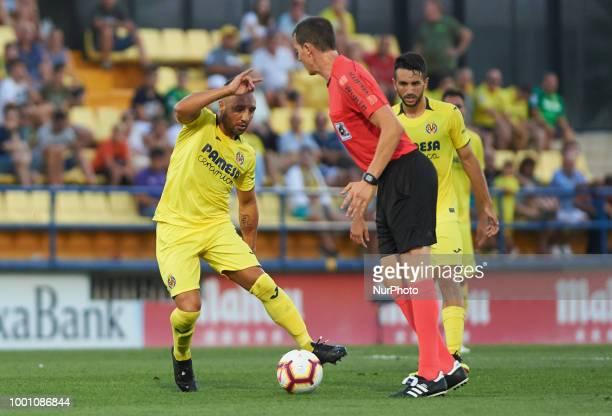 Santi Cazorla of Villarreal CF during the friendly match between Villarreal CF and Hercules at Ciudad Deportiva of Miralcamp on July 17 2018 in...