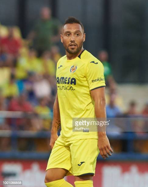 Santi Cazorla of Villarreal CF looks on during the friendly match between Villarreal CF and Hercules at Ciudad Deportiva of Miralcamp on July 17 2018...