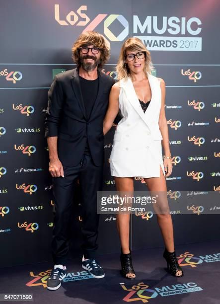 Santi Millan attends 40 Principales Awards candidates dinner 2017 on September 14 2017 in Madrid Spain