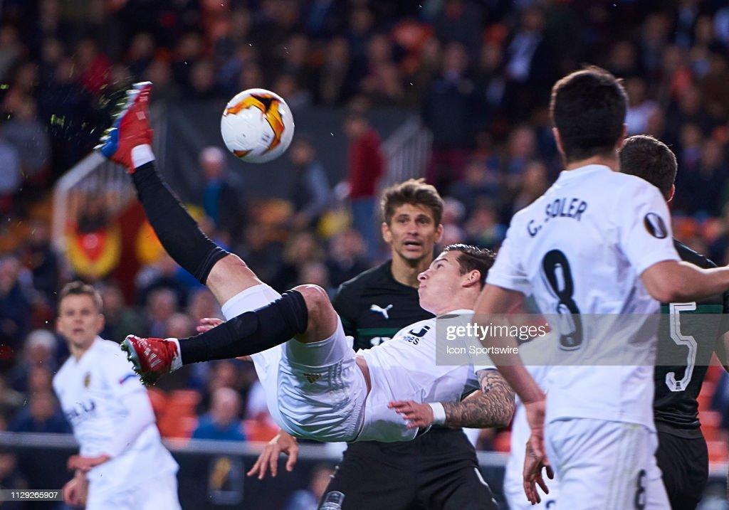 SOCCER: MAR 07 UEFA Europa League - FC Krasnodar at Valencia CF : News Photo
