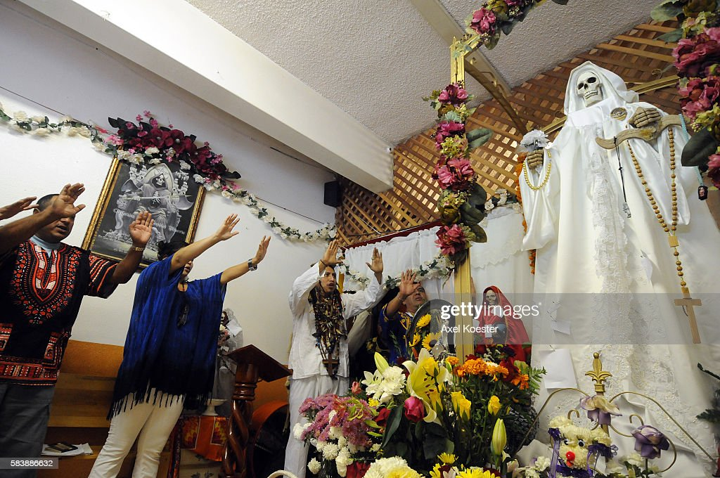 Image result for santa muerte getty