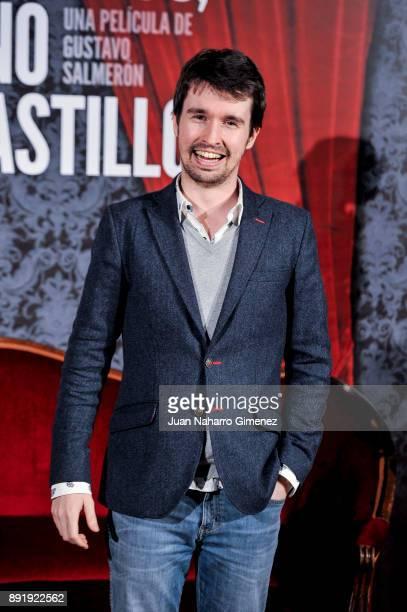 Santiago Alveru attends 'Muchos Hijos Un Mono Y Un Castillo' premiere at Callao Cinema on December 13 2017 in Madrid Spain