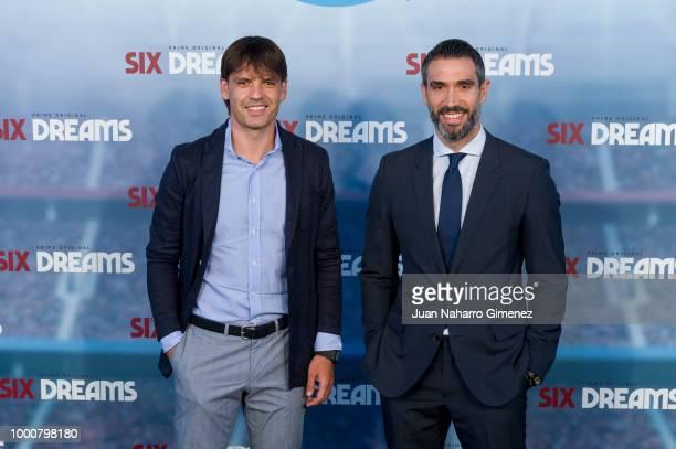 Santiago Alveru attends 'Six Dreams' premiere at Capitol Cinema on July 17 2018 in Madrid Spain