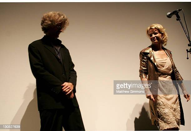 Santiago Amigorena and Juliette Binoche during 31st Annual Toronto International Film Festival 'Quelques Jours en Septembre' Premiere at Ryerson...