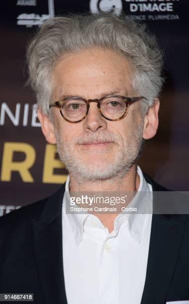 Santiago Amigorena attends the 23rd Lumieres Award Ceremony at Institut du Monde Arabe on February 5 2018 in Paris France