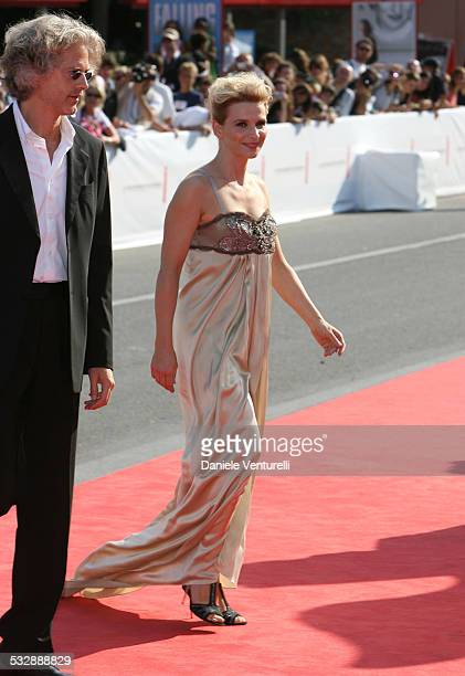 Santiago Amigorena director and Juliette Binoche during The 63rd International Venice Film Festival 'Quelques Jours En Septembre' Premiere at Palazzo...