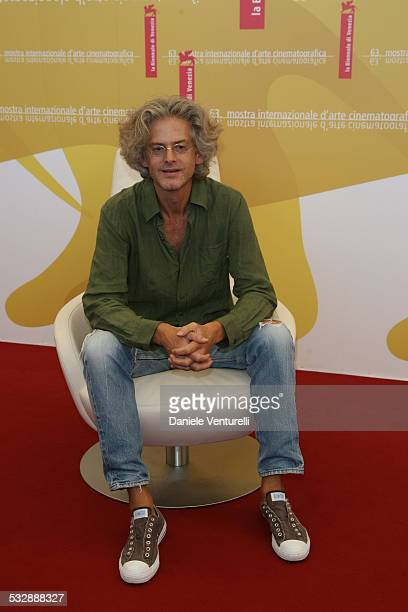 Santiago Amigorena director during The 63rd International Venice Film Festival 'Quelques Jours En Septembre' Photocall at Palazzo del Casino in...
