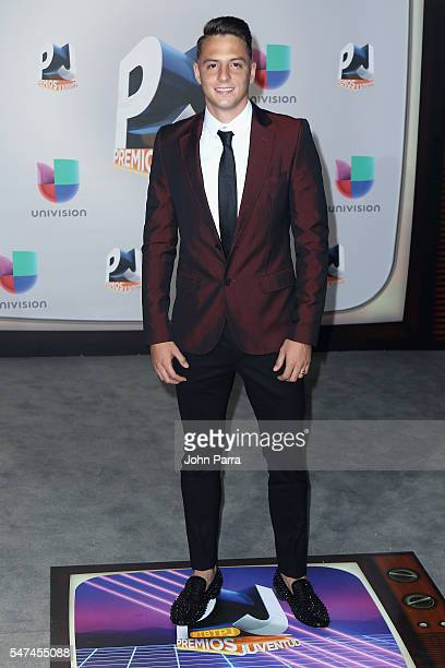 Santiago Arias attends the Univision's 13th Edition Of Premios Juventud Youth Awards at Bank United Center on July 14 2016 in Miami Florida