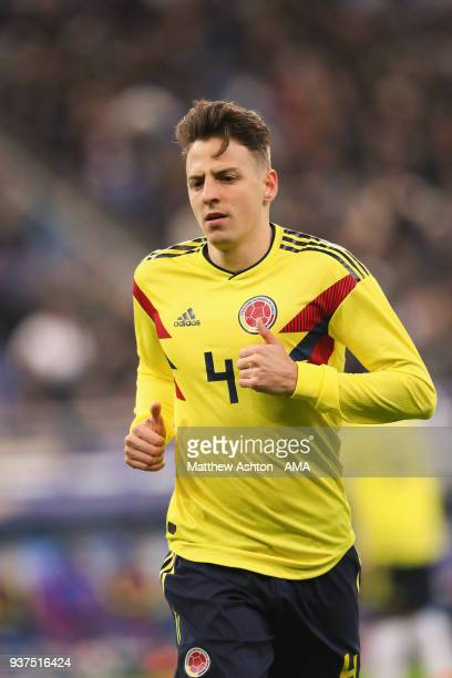 Santiago Arias of Colombia during the International Friendly match between France and Colombia at Stade de France on March 23 2018 in Paris France