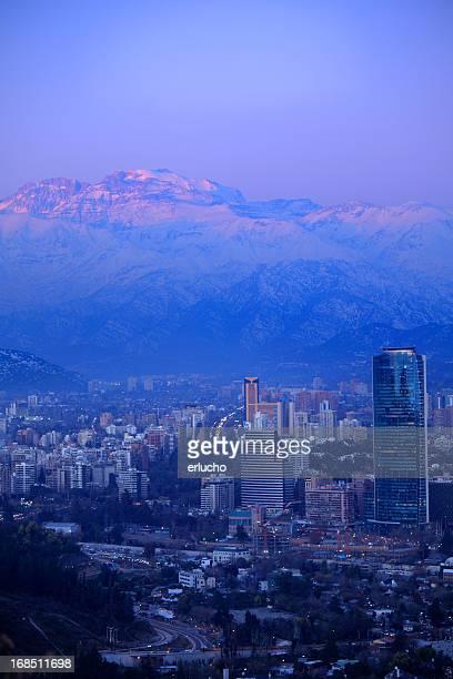 Santiago at Dusk