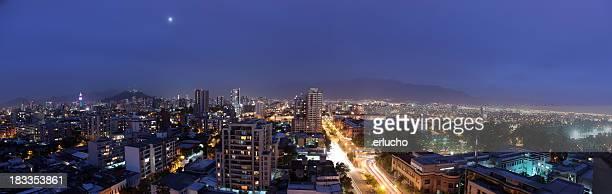 Santiago por la noche