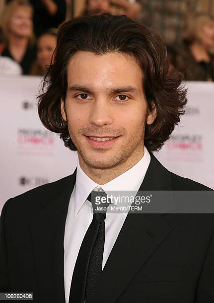Santiago Cabrera during 33rd Annual People's Choice Awards Arrivals at Shrine Auditorium in Los Angeles California United States