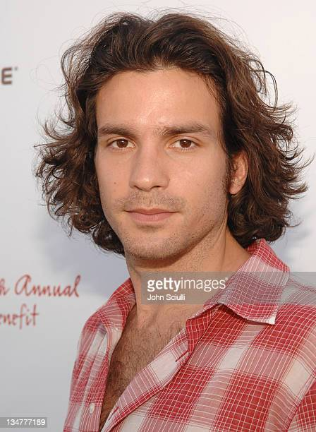 Santiago Cabrera during 5th Annual John Varvatos Stuart House Benefit Presented by Converse at John Varvatos Boutique in Los Angeles California...